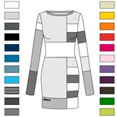 individual Mozaic Dress